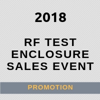 2018 Promotion on DVTEST RF Test Enclosures and Interface Modules