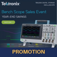 Turbo-Charge your Bench with 20% off Tektronix Oscilloscopes