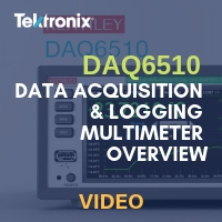 Keithley: DAQ6510 Data Acquisition & Logging Multimeter Overview