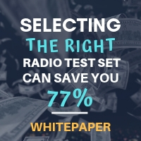 Selecting the right Radio Test Set can save you 77%