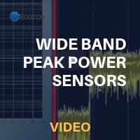 Wideband Peak Power Sensors - Real Time Power Processing