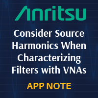 Anritsu: Consider Source Harmonics When Characterizing Filters with VNAs
