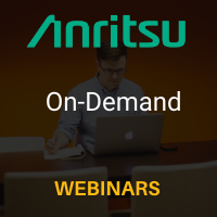 Anritsu On-Demand Webinars
