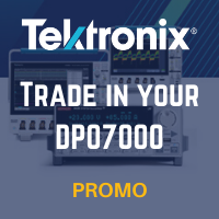 Tektronix DPO7000 Trade-In Promotion - Offer Ends September 25, 2020
