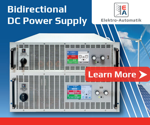 EA - PSB Bidirectional DC-Laboratory Power Supplies and ELR Programmable DC Loads