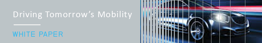 Driving Tomorrow's Mobility